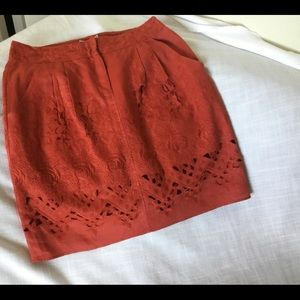 Anthropologie NWT Skirt size 10
